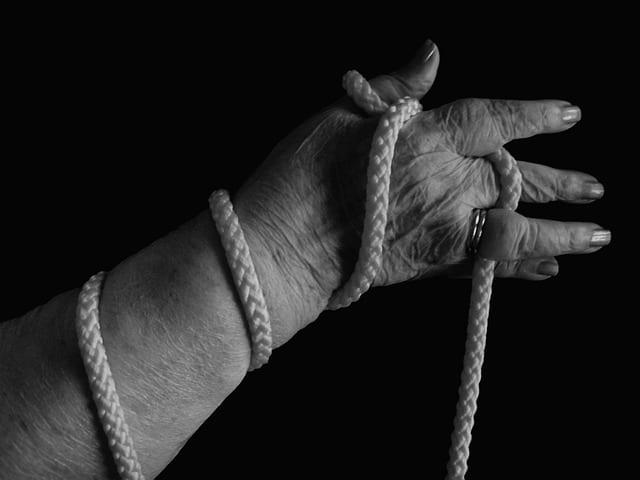 Evaluación en terapia de mano