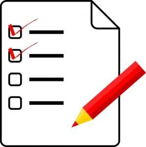 Programas de actividades para casa y las medidas de autoreporte