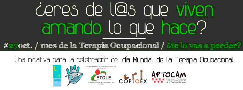 #ocupasion, iniciativa para celebrar el Día Mundial de la Terapia Ocupacional